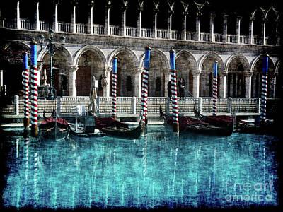 Photograph - Venice Reflected by David Bearden