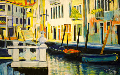 Venice Remembered Art Print