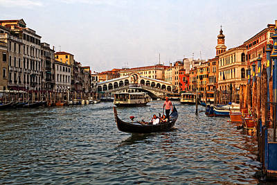Photograph - Venice Rialto by Michael Yeager
