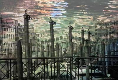 Photograph - Venice Ripples by Dorothy Berry-Lound