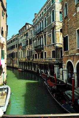 Venice River Art Print