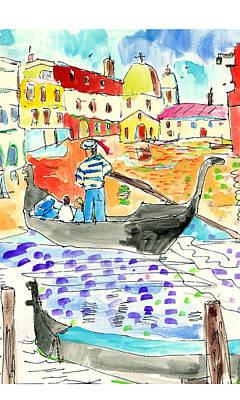 Venice Art Print by Samuel Zylstra
