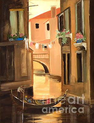 Painting - Venice Scene by Pati Pelz