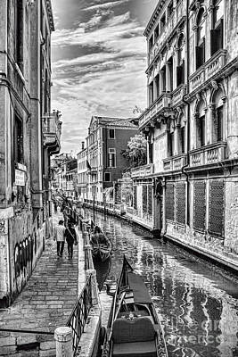 Photograph - Venice Scenes by Shirley Mangini