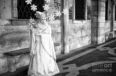 Photograph - Venice Snow Princess by John Rizzuto