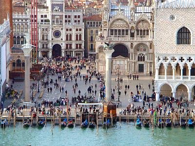 Photograph - Venice Square by Karen Zuk Rosenblatt