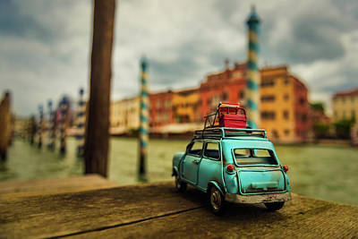 Miniature Wall Art - Photograph - Venice Stopped by Luis Francisco Partida