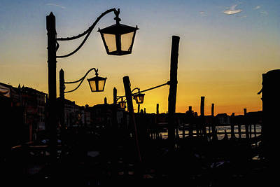 Photograph - Venice Sunrise by Alex Saunders