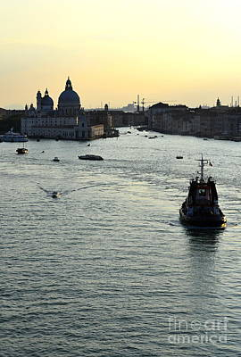 Digital Art - Venice Sunset 2 by Leo Symon