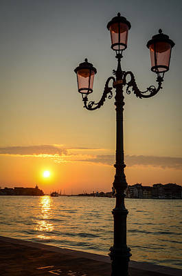 Venecia Photograph - Venice Sunset by Mr Doomits