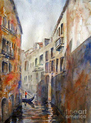 Painting - Venice Travelling by Carolyn Jarvis
