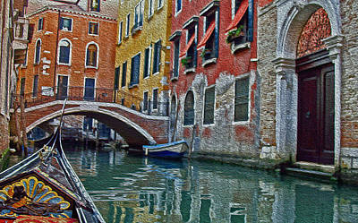 Venice Water Home Art Print