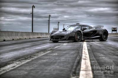 Steven Tyler Photograph - Venom Gt by James Souter