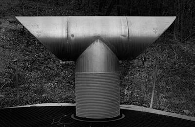 Vent Pipe Art Print by Bud Simpson