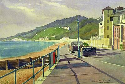 Ventnor, Isle Of Wight Art Print by Osmund Caine