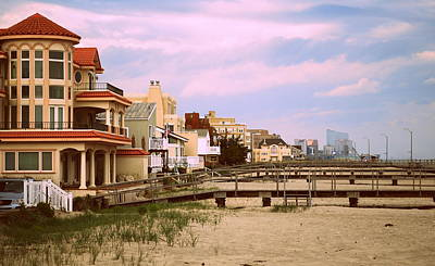 Photograph - Ventnor To Atlantic City by Mary Beth Landis