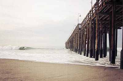California Coast Photograph - Ventura California Pier  by Bree Madden