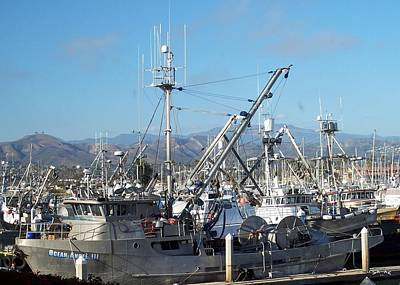 Ventura Harbor  Art Print