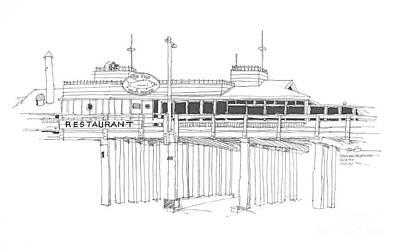Ventura Pier California Original by Robert Birkenes