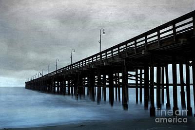 Blend Photograph - Ventura Pier by Elena Nosyreva