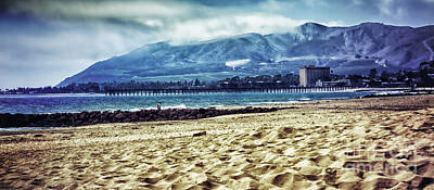 Photograph - Ventura Pier From Pierpont Beach by David Millenheft