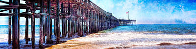 Photograph - Ventura Pier by Steve Benefiel