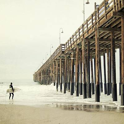 California Seascape Photograph - Ventura Surfer  by Bree Madden