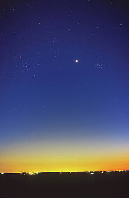 35mm Photograph - Venus Between Pleiades And Hyades by Alan Dyer