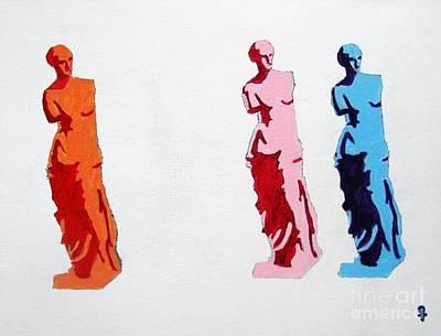Venus De Milo Statue Art Print by Venus