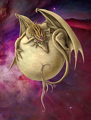 Digital Art - Venus Dragon by Rob Carlos