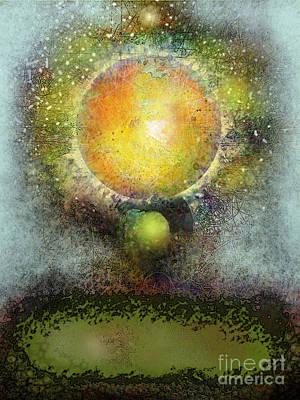Digital Art - Venus Emergent by Carol Jacobs