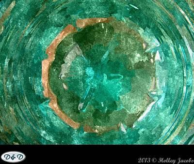 Digital Art - Venus Flytrap Caught At Last by Holley Jacobs