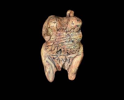 Venus Of Holhe Fels Art Print by Javier Trueba/msf