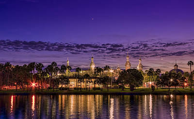 Refection Photograph - Venus Over The Minarets by Marvin Spates