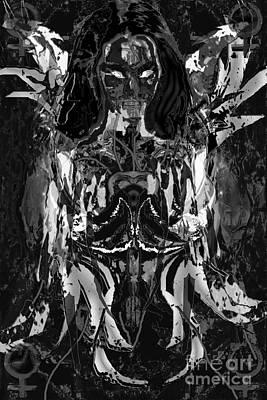 Digital Art - Venus Raging II by Asegia