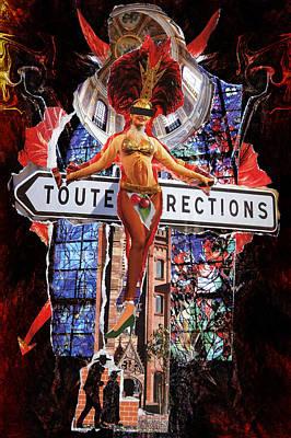 Mixed Media - Venus Sacrifice by Selke Boris