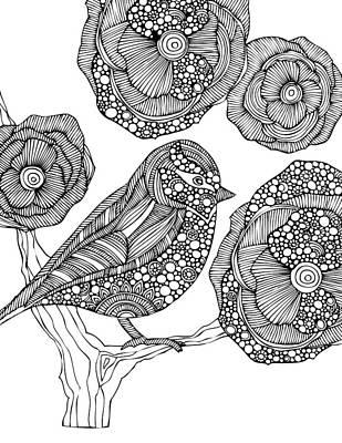 Graphic Drawing - Vera by Valentina Harper