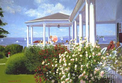 Verandah Painting - Verandah by Candace Lovely