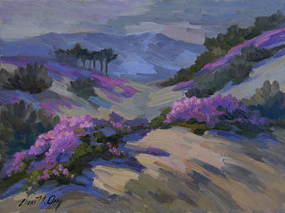 Painting - Verbena In Bloom by Diane McClary