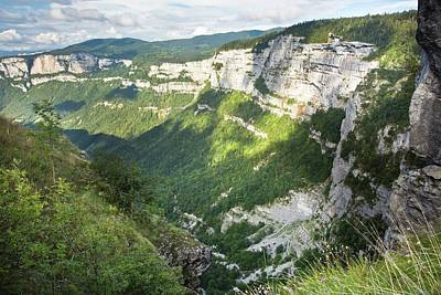 Laval Photograph - Vercors Massif by Bob Gibbons