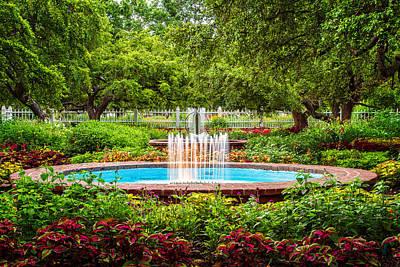 Photograph - Verdant Garden by Jeff Sinon