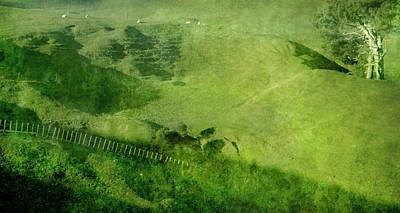 Photograph - Verdant Hills by Linde Townsend