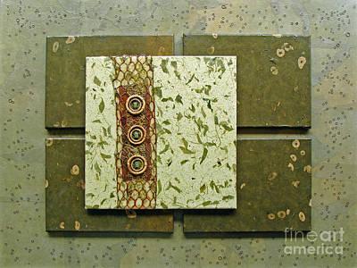 Leafy Mixed Media - Verdant by Phyllis Howard