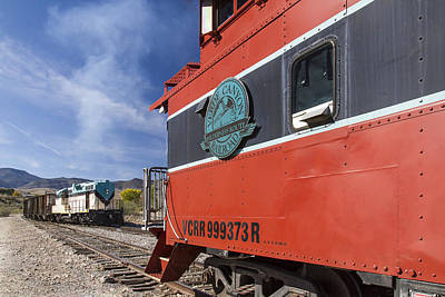 Photograph - Verde Canyon Railway Caboose by Jim Moss