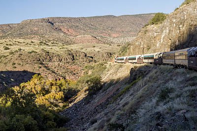 Photograph - Verde Canyon Railway Landscape 2 by Jim Moss