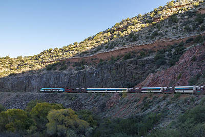Photograph - Verde Canyon Railway Landscape 1 by Jim Moss
