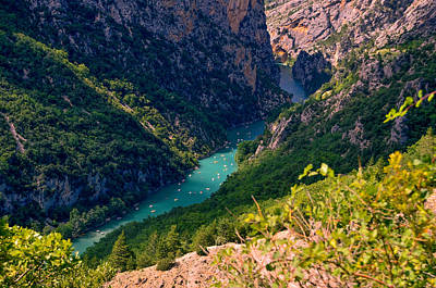 Photograph - Verdon Gorge 2 by Dany Lison