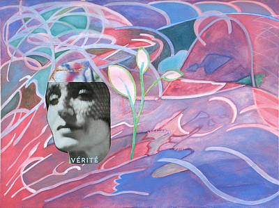 Color Painting - Verite  by Laura Joan Levine