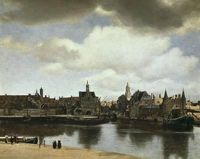 Vermeer, Johannes 1632-1675. View Art Print by Everett