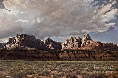 Photograph - Vermilion Cliffs  by Donna Greene